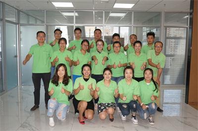 佰藻源运营部团队