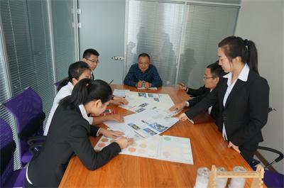 佰藻源部门会议
